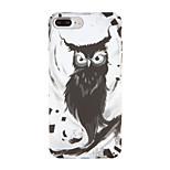 For Apple iPhone 7 7Plus Pattern Case Back Cover Case Owl Hard PC 6s plus 6 plus 6s 6