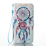 For Huawei P8 Lite (2017) P9 Lite Card Holder Wallet Pattern Case Full Body Case Dream Catcher Hard PU Leather