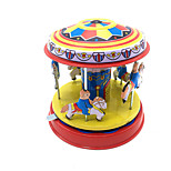Wind-up Toy Cylindrical Metal Children's