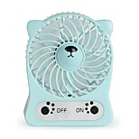 Charging Small Fan USB Portable Hand-Held Fan Cartoon Mute Desktop Fan