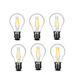 ® Shenmeile 3.5W E27 LED Filament Bulbs A60(A19) 4 COB 400 lm Warm White Decorative AC220 AC230 AC240 V 6 pcs