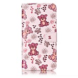 For iPhone 7 7 Plus Case Cover Card Holder Wallet Embossed Pattern Full Body Case Cartoon Hard PU Leather for iPhone 6s 6 Plus 6S 6 SE 5S 5