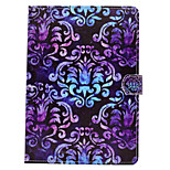 For iPhone iPad (2017) iPad Pro 9.7'' PU Leather Material Palace Flower Pattern Painted Flat Protective Cover iPad Air 2 Air iPad 2 / 3 / 4