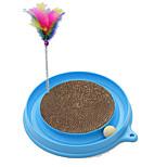 Cat Toy Pet Toys Interactive Scratch Pad Plastic