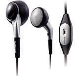 PHILIPS SHM3100 Earphone For Mobile Phone Cellphone Computer In-Ear Wired Plastic 3.5mm With Microphone Noise-Cancelling