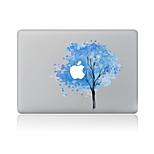 For MacBook Air 11 13/Pro13 15/Pro With Retina13 15/MacBook12 Scrawl Blue Tree Decorative Skin Sticker