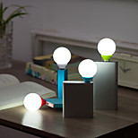 1PC Mini Usb Lighting Bedroom Dormitory Eye Lamp Nightlight(Random Color)