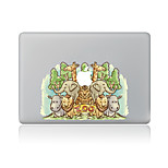 1 Stück Kratzfest Tier Transparenter Kunststoff Gehäuse Aufkleber Muster FürMacBook Pro 15'' with Retina MacBook Pro 15 '' MacBook Pro