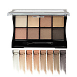 1Pcs Brand Eye Cosmetics Makeup Eyeshadow Naked 8 Colors Glitter Matte Eye Shadow Palette Make Up Eye Shadow Cosmetic With Brush