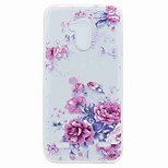 For ZTE V7 V7 Lite Case Cover Translucent Pattern Back Cover Case Flower Soft TPU for ZTE Blade A452
