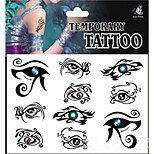 Temporary Tattoos Back Body Totem Series Series 3D Rose Waterproof Tattoos Stickers Non Toxic Glitter Large Fake Tattoo Halloween Gift 22*15cm