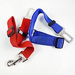 Guinzagli Le mani Guinzaglio libero Cintura di sicurezza per cani / Imbragatura per autoAjustável/Retrattile Per l'auto Sicurezza