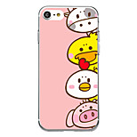 For Ultra Thin Pattern Case Back Cover Case Cartoon Soft TPU for iPhone 7 Plus  7  6s Plus  6 Plus  6s SE 5S 5