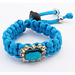Fashion Simple Set Auger Woven Bracelet