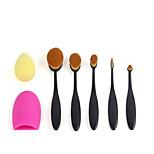 1set Makeup Brush Set Blush Brush Eyeshadow Brush Eyeliner Brush Concealer Brush Foundation Brush Synthetic Hair Full Coverage ResinMen