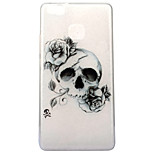 For Huawei P10 P9 Lite Case Cover Skull Pattern High Transparent TPU Material IMD Craft Mobile Phone Case P8 Lite 2017