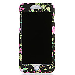 For Apple iPhone 7 7Plus Case Cover Pattern Full Body Case Flower Hard PC 6s Plus 6 Plus  6s  6