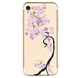 For Apple iPhone 7 7 Plus 6S 6 Plus Case Cover Tree Pattern Painted High Penetration TPU Material Soft Case Phone Case