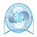 Mini USB  Fan 6 Inch Wrought Iron Fan Mute Soft Wind Students Fan 5 v