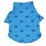 Dog Shirt / T-Shirt Dog Clothes Spring/Fall Stars Cute