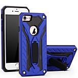 Pour Etuis coque Avec Support Coque Arrière Coque Armure Dur Polycarbonate pour AppleiPhone 7 Plus iPhone 7 iPhone 6s Plus iPhone 6 Plus