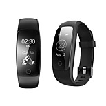 ID107 Plus Waterproof Sport Smart Heart Rate Monitor Bracelet Pedometer Heat Counter Wristband