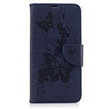 For Huawei Mate 9 P9 Lite Case Cover Pressed Butterfly Pattern PU Leather Case Leather Case Y5 II Y6 II  P10