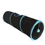 Cat Toy Pet Toys Tubes & Tunnel Foldable Fabric