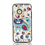 Pour Relief Motif Coque Coque Arrière Coque Chat Dur Polycarbonate pour AppleiPhone 7 Plus iPhone 7 iPhone 6s Plus iPhone 6 Plus iPhone