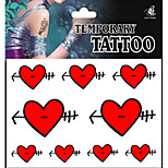 Temporary Tattoos Arm Body Romantic Series 3D Rose Waterproof Tattoos Stickers Non Toxic Glitter Large Fake Tattoo Halloween Gift 22*15cm