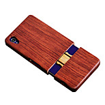 CORNMI For Sony Sony Xperia Z5 Premium Rosewood Walnut Wood Hard Wooden Back Cover Shell