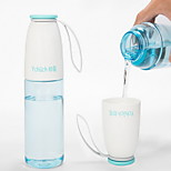 530ml Plastic Portable Motion Kettle Water Bottle