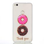 For Huawei P8 Lite (2017) P8 Lie Donuts Pattern Relief Luminous TPU Material Phone Case Huawei Honor 5X Honor 8 P9 P9 Lite Y5 II Y6 II Nova