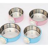 Dog Feeders Pet Bowls & Feeding Blue Blushing Pink