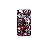 For Apple iPhone 7 Plus iPhone 7 iPhone 6s Plus iPhone 6 Plus iPhone 6s Frosted Embossed Pattern Case Back Cover Case Flower Hard PC for Apple