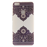 For Huawei P8 Lite (2017) P10 Case Cover Lace Flowers Pattern HD Painted TPU Material IMD Process Phone Case P10 Lite Honor 6X Y5 II Y6 II