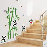 Animales Botánico Caricatura Pegatinas de pared Calcomanías de Aviones para Pared Calcomanías Decorativas de Pared,Papel Material