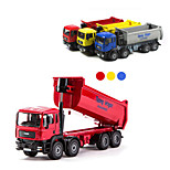Construction Vehicle Toys Car Toys 1:87 Metal Dark Red Yellow Model & Building Toy