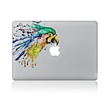 For MacBook Air 11 13/Pro13 15/Pro With Retina13 15/MacBook12 Raffiti Parrot Color Decorative Skin Sticker