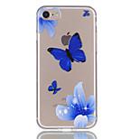 Для iphone 7 7plus 6s 6plus 5s 5 бабочки цветы картины рельеф лак tpu материал не затухает телефон случае