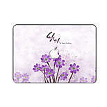 For MacBook Pro Air 11 13 15 Inch Laptop Cases Plastic Protective Shell Cartoon Flower Pattern Ornament Cover H2244