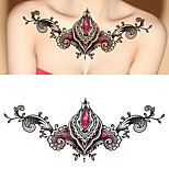 1PCS Waterproof Sexy Temporary Tattoo Stickers Chest Back Big Size Tattoo Stickers