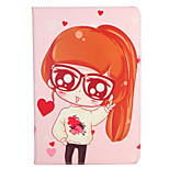For Apple iPad (2017) Pro 9.7'' Case Cover with Stand Flip Pattern Full Body Case Sexy Lady Heart Hard PU Leather  Air 2 Air ipad2 3 4