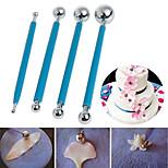 4 pezzi Strumento di decorazione Torta per la torta per Candy Acciaio inossidabile Matrimonio Compleanno San Valentino