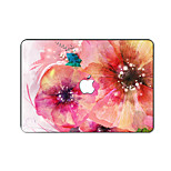 For MacBook Pro Air 11 13 15 Inch Laptop Cases Plastic Protective Shell Flower Pattern Ornament Cover H2246