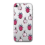 For iPhone 7 Plus 7 Case Cover Pattern Back Cover Case Tile Cartoon Fruit Soft TPU for iPhone 6s Plus 6 Plus 6s 5s SE 5