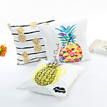1 Pcs  45CM*45CM Pineapple Series Silk Pillow Case