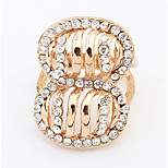 Euramerican Fashion Exaggerated Levon Han Rings Rhinestones Elegant More Occasions  Women's  Rings Movie Jewelry