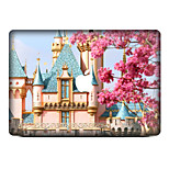 For MacBook Air 11 13/Pro13 15/Pro with Retina13 15/MacBook12 Cartoon Castle Decorative Skin Sticker