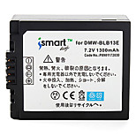 Ismartdigi BLB13 7.2V 1300mAh Camera Battery for Panasonic DMC- GF1 G1 GH1 G2 G10